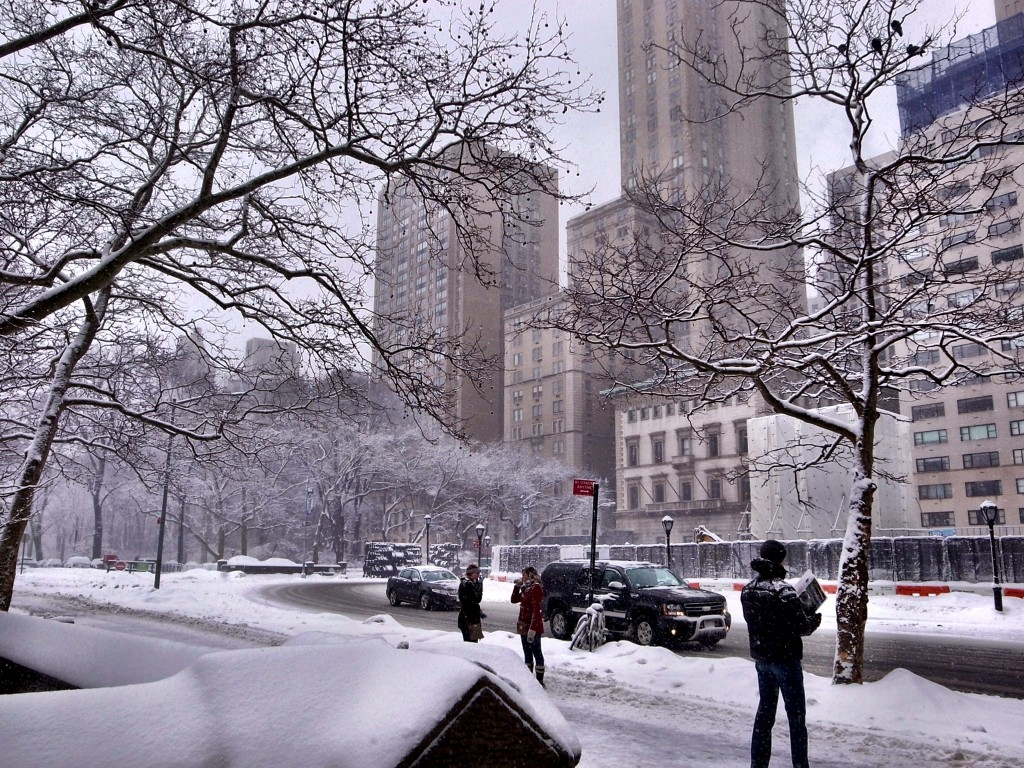 New York Schnee