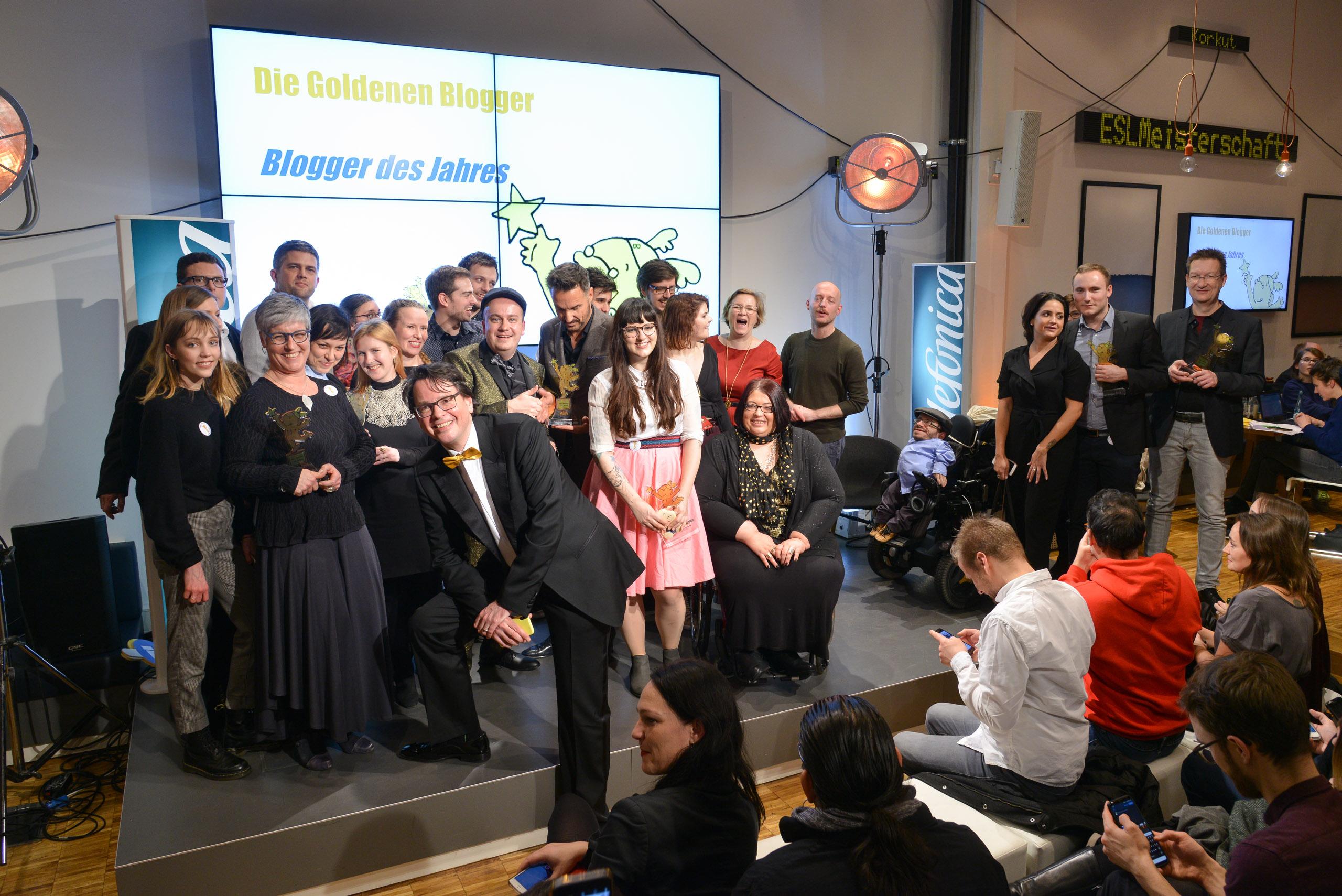 So schön waren die Goldenen Blogger 2017