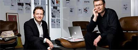 Lukas Kircher und Rainer Burkhardt