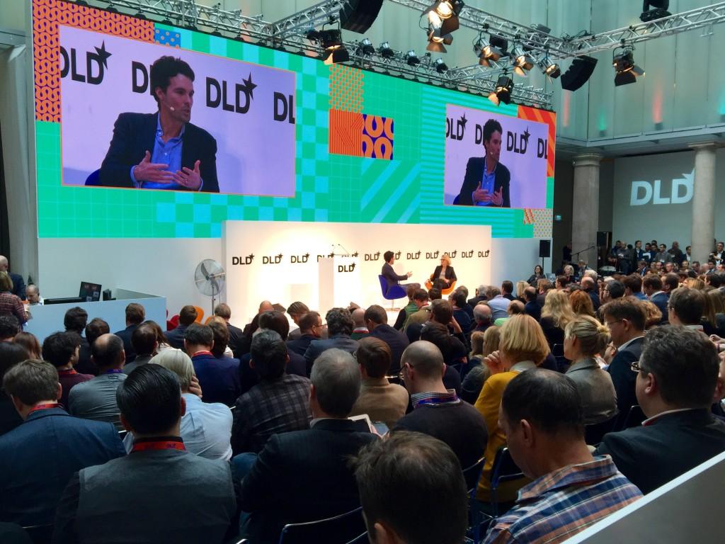 Philipp Schindler/Google bei der #DLD16 - Foto: Gutjahr